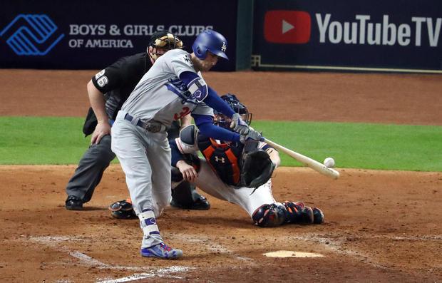 homerun Game 5 World Series 2017