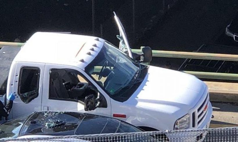 1 person dead in shootout with police on busy interstate