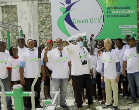 GREEN GYM : un projet phare à la rescousse de la jeunesse haïtienne